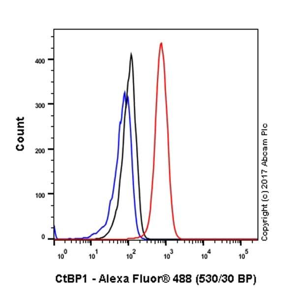 流式细胞术-抗CtBP1抗体[EPR6800](ab129181)