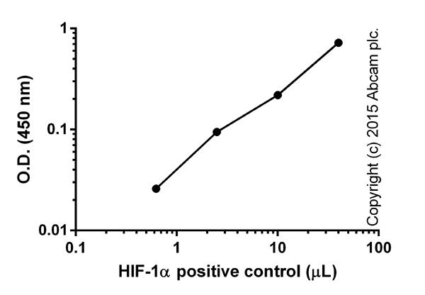 Functional Assay: ab133104 HIF-1 alpha Transcription Factor Assay Kit