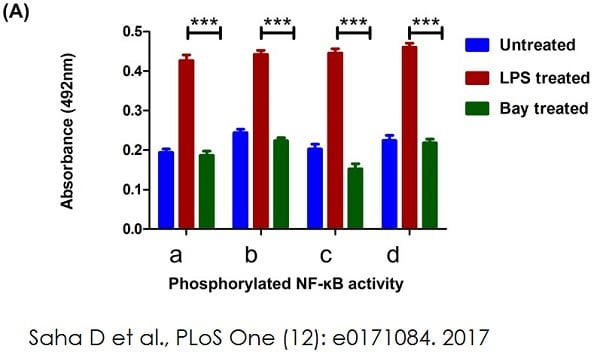 Determining p65-NF-?B by ELISA using ab133112
