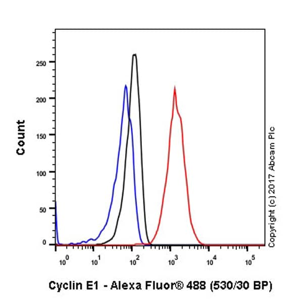 Flow Cytometry - Anti-Cyclin E1 antibody [EPR194] (ab133266)