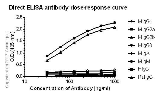ELISA - Anti-IgG1 antibody [MIGG-108] (ab133468)