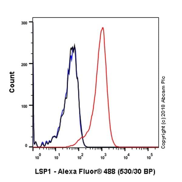 Flow Cytometry - Anti-LSP1 antibody [EPR5997] (ab133506)
