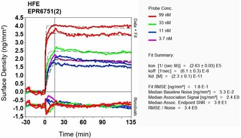 OI-RD Scanning - Anti-HFE antibody [EPR6751(2)] (ab133639)