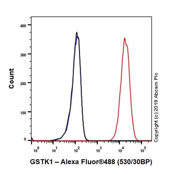 Flow Cytometry - Anti-GSTK1 antibody [EPR1939] (ab134173)