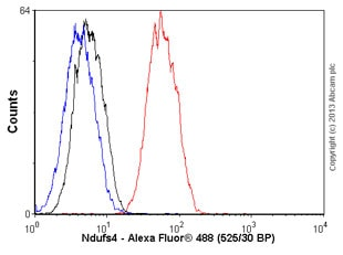 Flow Cytometry - Anti-Ndufs4 antibody [EP7832] (ab137064)