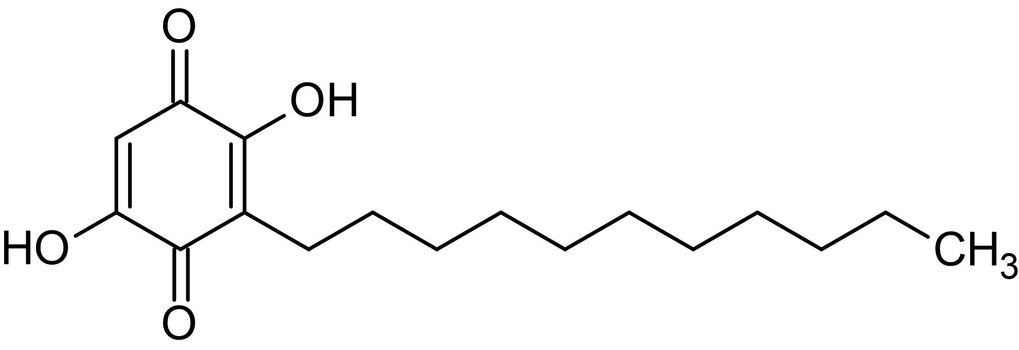 Chemical Structure - Embelin, cell-permeable inhibitor of X-linked inhibitor of apoptosis (ab141061)