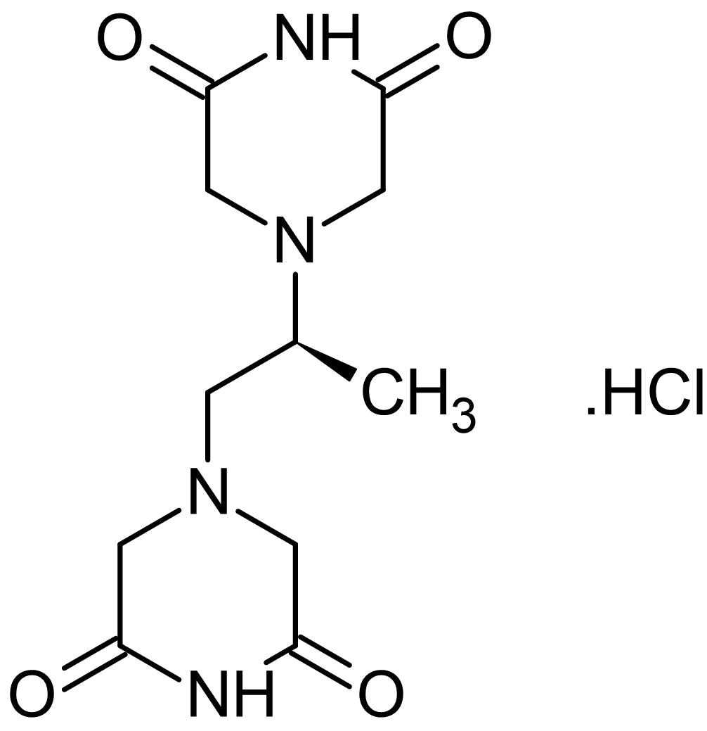 Chemical Structure - Dexrazoxane hydrochloride, Topoisomerase II inhibitor (ab141109)