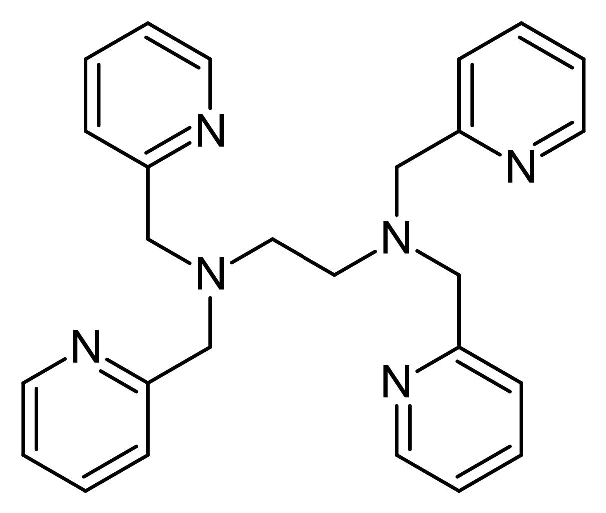 Chemical Structure - TPEN, Metal ion chelator (ab141111)