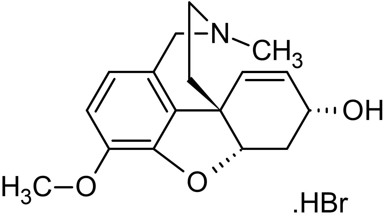 Chemical Structure - Galanthamine hydrobromide, Alkaloid acetylcholinesterase inhibitor (ab141114)