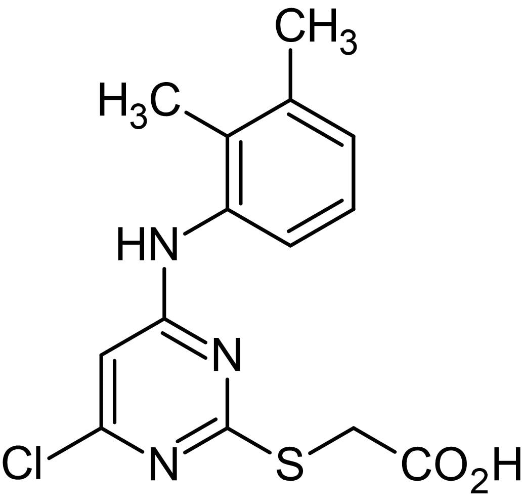 Chemical Structure - WY 14643, PPARalpha agonist (ab141142)