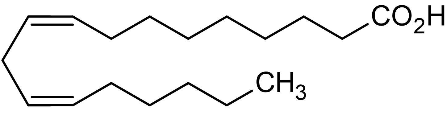 Chemical Structure - Linoleic acid, PPAR activator. (ab141144)