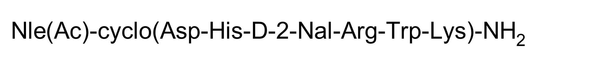Chemical Structure - SHU9119, Melanocortin 3 and 4 (MC<sub>3</sub> and MC<sub>4</sub>) receptor antagonist (ab141164)