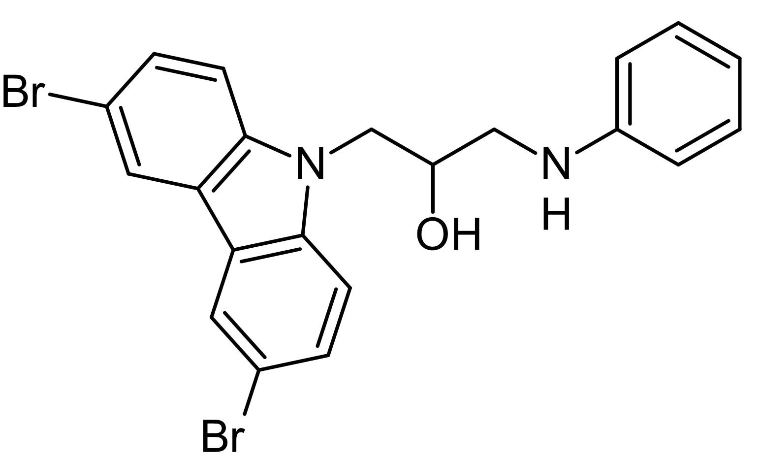 Chemical Structure - P7C3, pro-neurogenic and neuroprotective compound (ab141188)