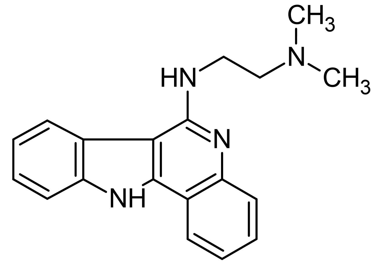 Chemical Structure - IQDMA, Cell-permeable STAT5 inhibitor (ab141192)