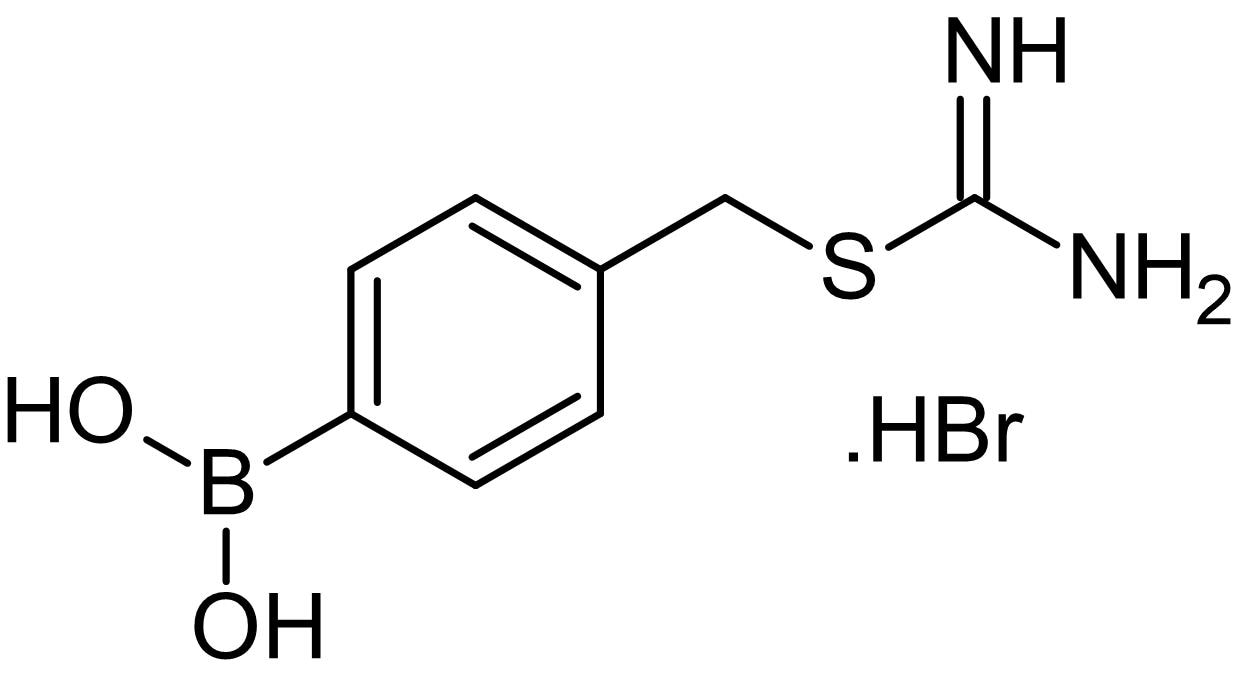 Chemical Structure - BC 11 hydrobromide, Urokinase (uPA) inhibitor (ab141194)
