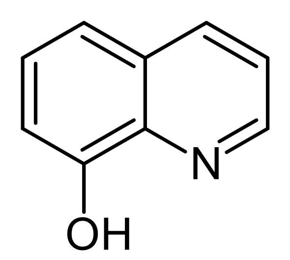 Chemical Structure - 8-Hydroxyquinoline (8HQ), RNA synthesis inhibitor and ion chelator (ab141198)