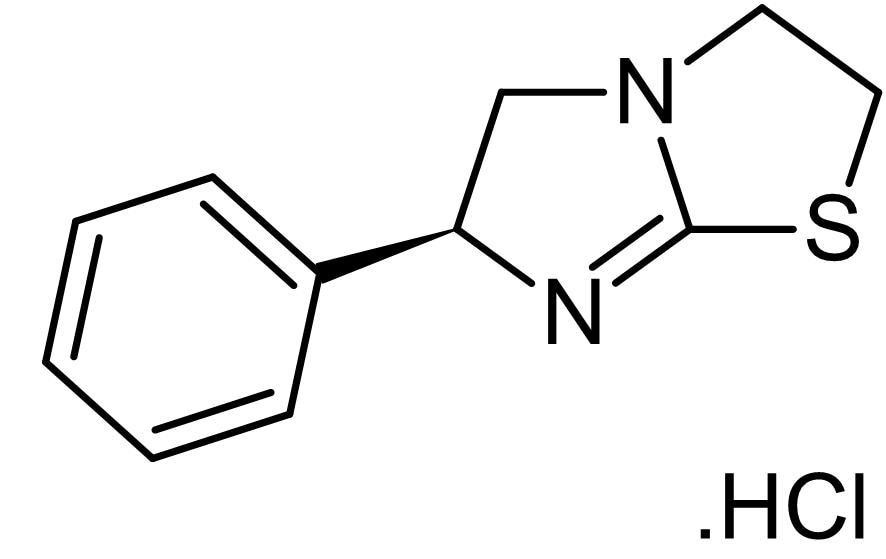 Chemical Structure - Levamisole hydrochloride, Alkaline phosphatase inhibitor (ab141217)