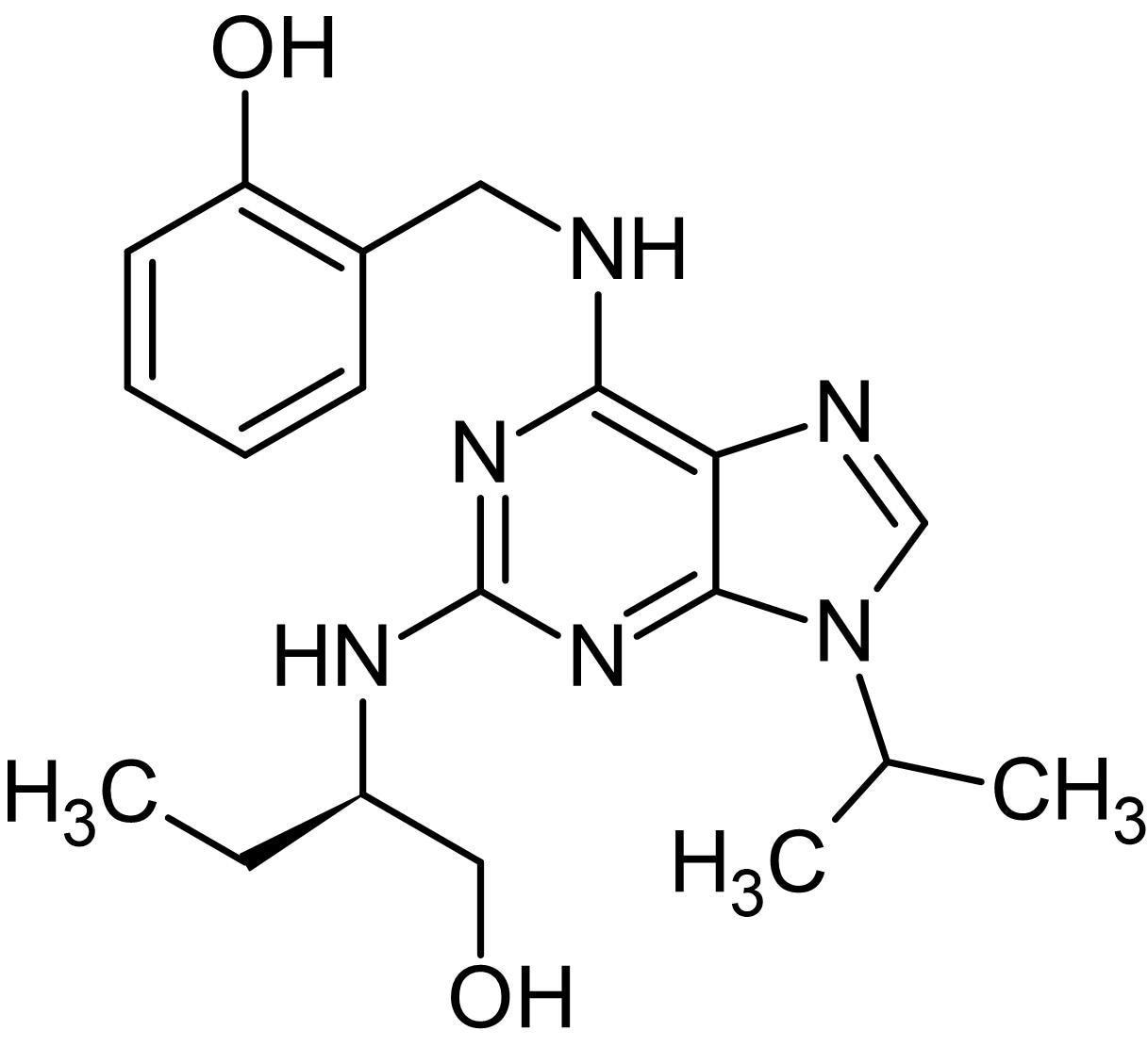 Chemical Structure - Olomoucine II, CDK/cyclin inhibitor (ab141238)