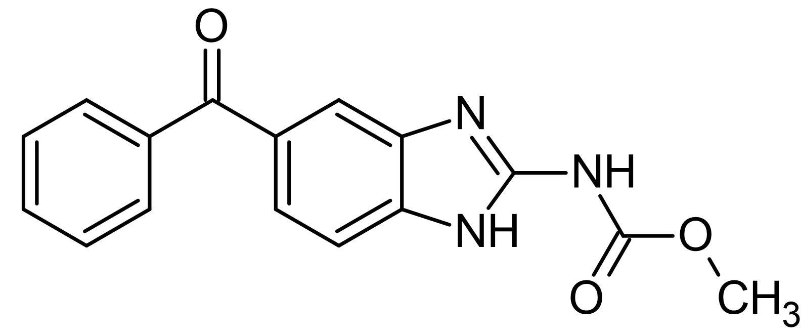 Chemical Structure - Mebendazole, Benzimidazole antihelmintic (ab141246)