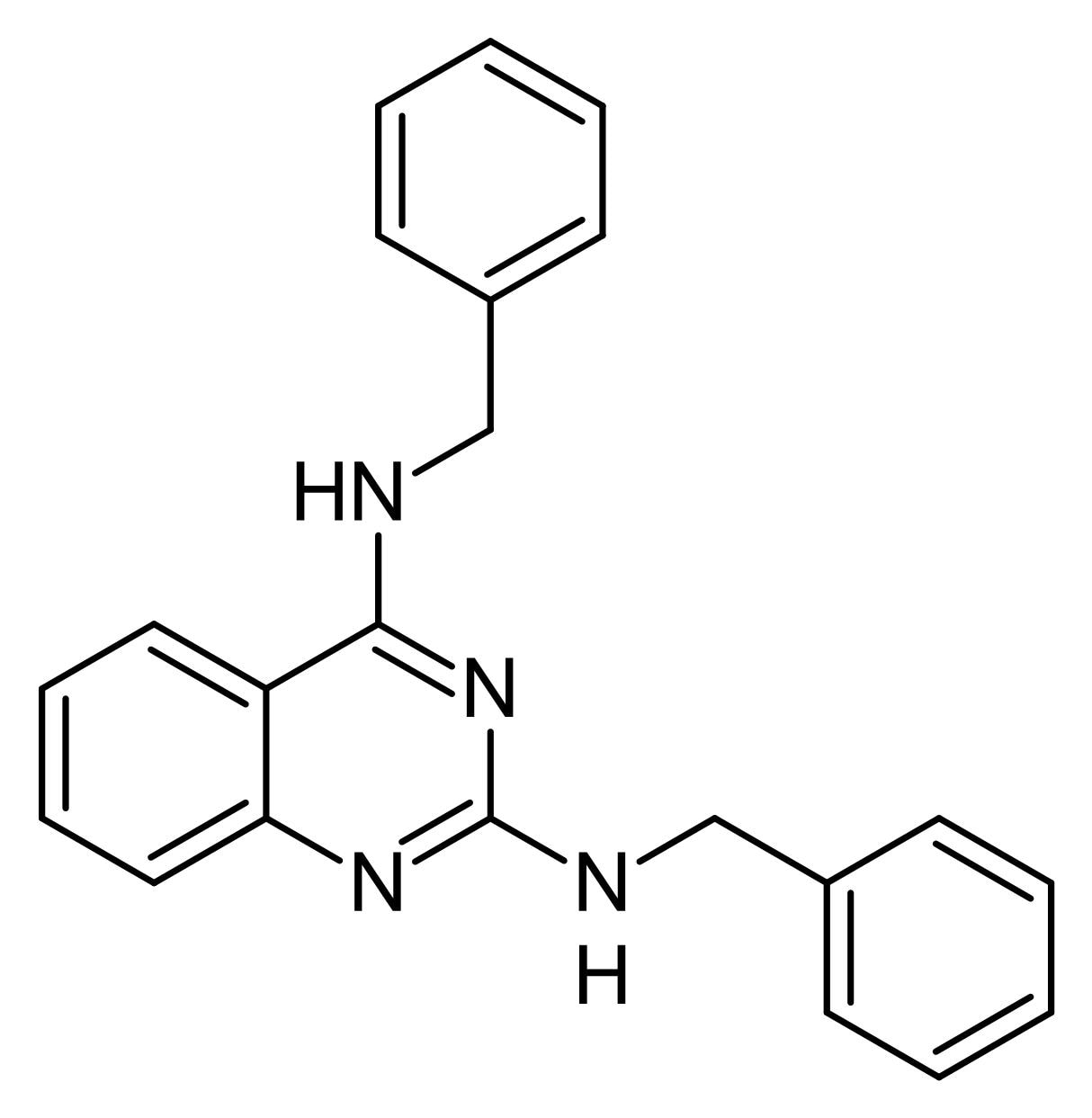 Chemical Structure - DBeQ, p97 ATPase inhibitor (ab141254)