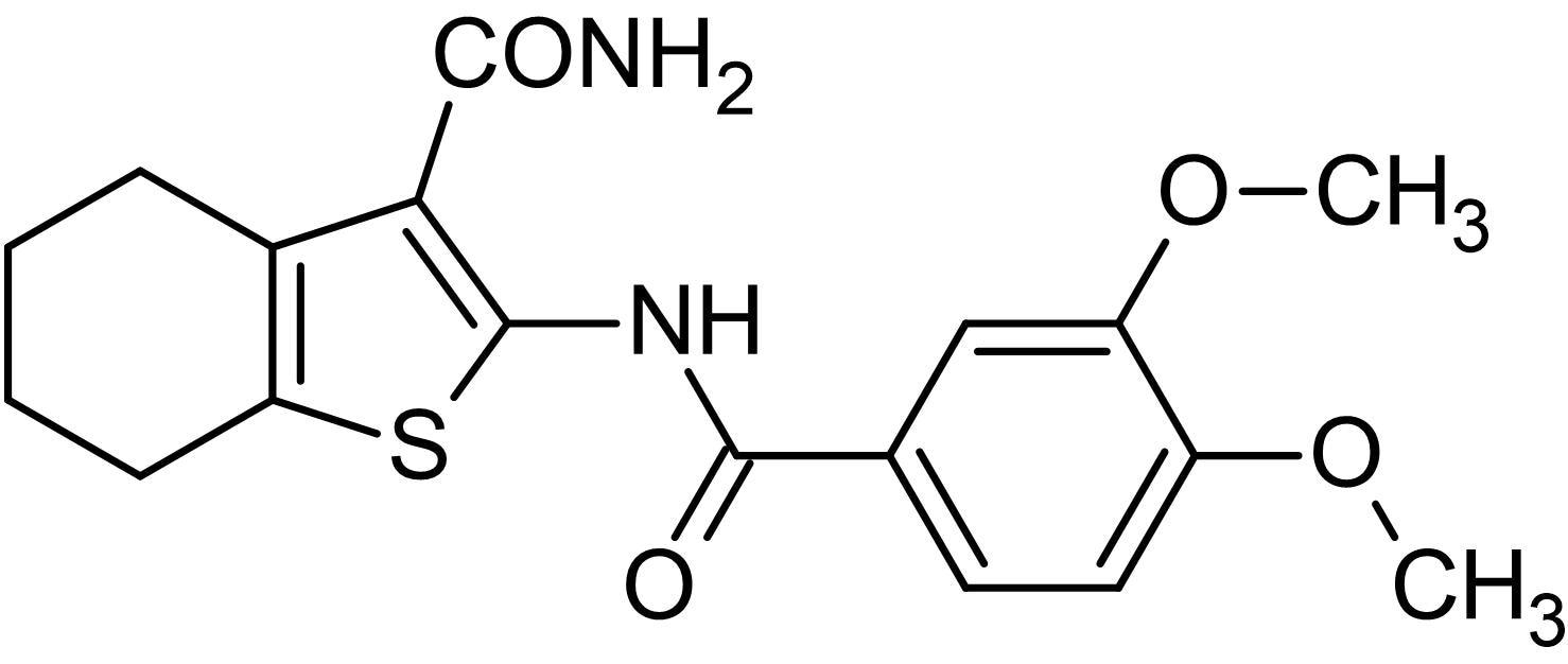 Chemical Structure - TCS 359, FLT3 receptor tyrosine kinase inhibitor (ab141268)
