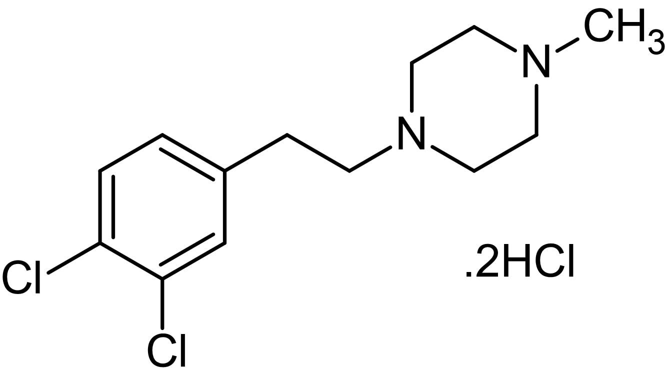 Chemical Structure - BD 1063 dihydrochloride, sigma-1 antagonist (ab141323)