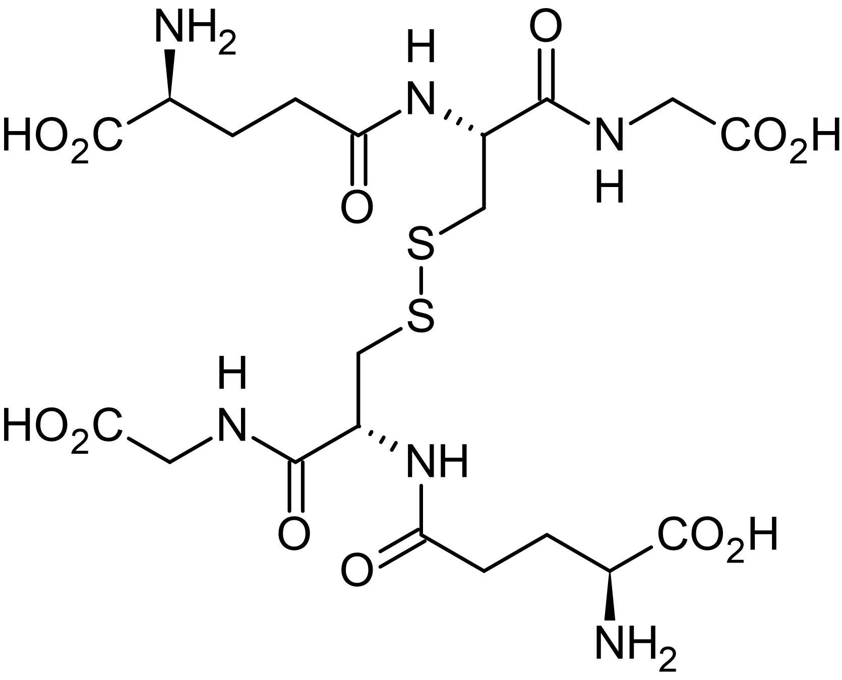 Chemical Structure - Oxidized glutathione (GSSG), Hydrogen acceptor (ab141393)