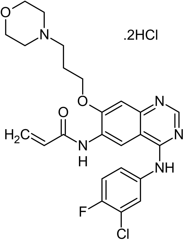 Chemical Structure - Canertinib (CI-1033), EGFR and HER2/ErbB2 tyrosine kinase inhibitor (ab141402)