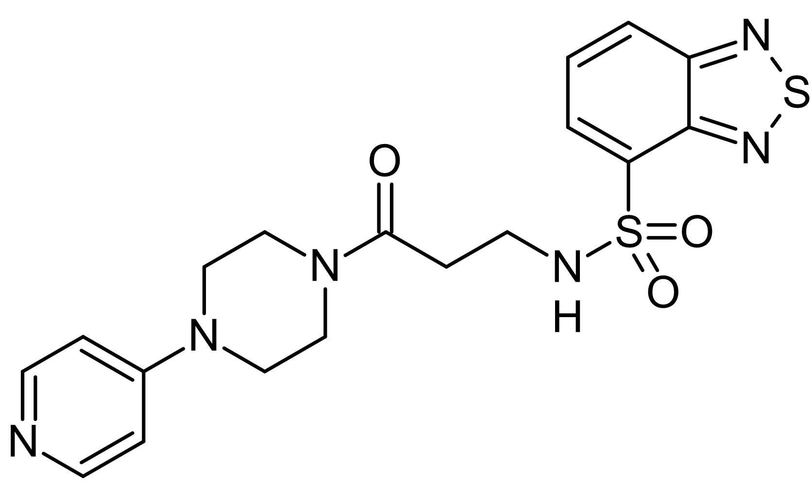 Chemical Structure - VU0255035, muscarinic M<sub>1</sub> antagonist (ab141424)