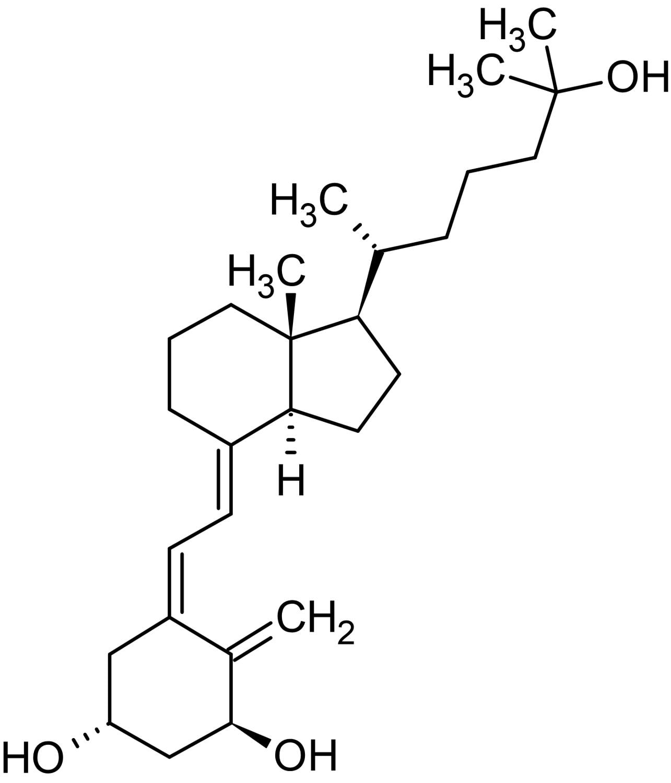 Chemical Structure - Calcitriol, Vitamin D receptor (VDR) agonist (ab141456)