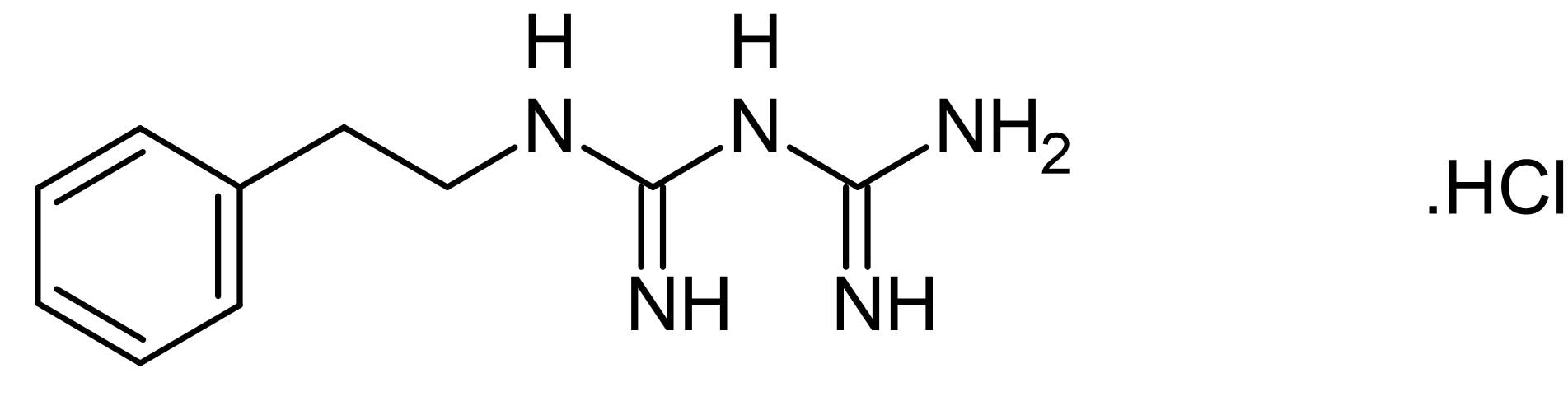 Chemical Structure - Phenformin hydrochloride, AMPK activator (ab141459)