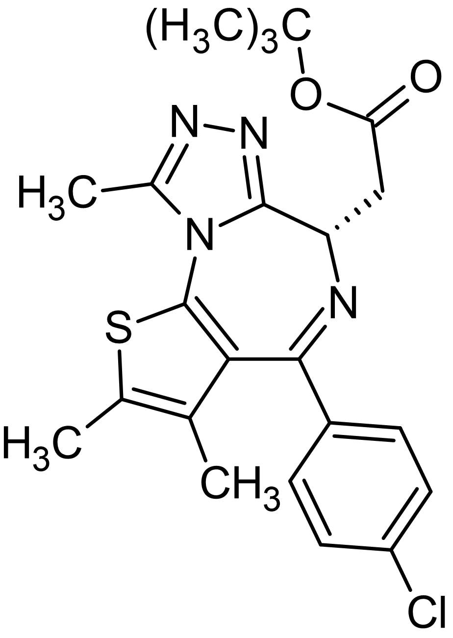 Chemical Structure - (+)-JQ1, BET bromodomain inhibitor (ab141498)