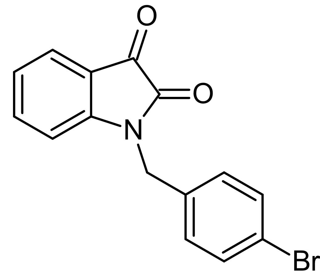 Chemical Structure - VU0119498, M<sub>1</sub> muscarinic receptor agonist and pan mAChR M<sub>3</sub>, M<sub>5</sub> PAM (ab141512)