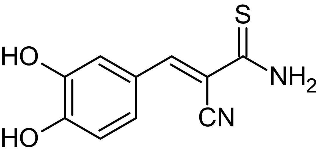 Chemical Structure - Tyrphostin 47, EGFR tyrosine kinase inhibitor (ab141558)