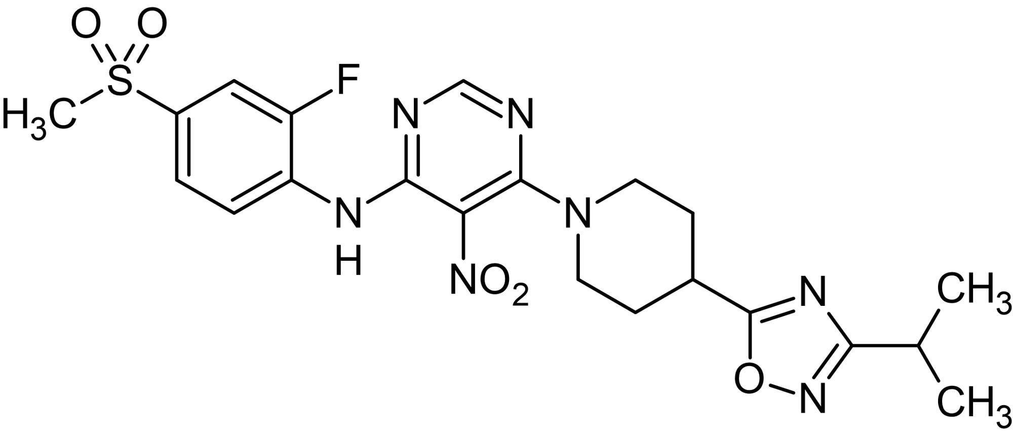 Chemical Structure - AR 231453, GPR119 agonist (ab141627)