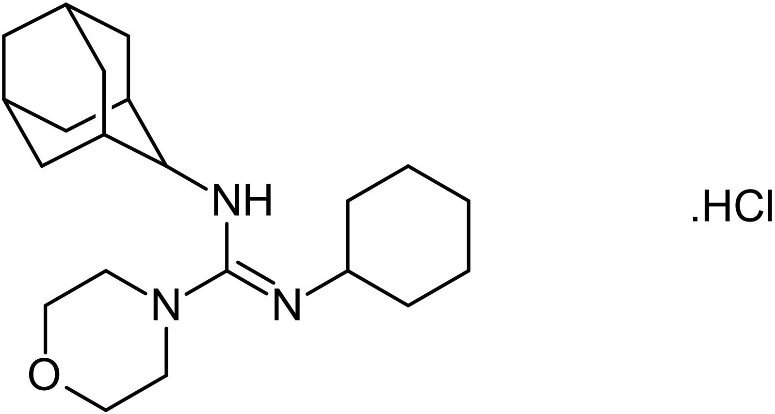Chemical Structure - U-37883A, ATP-sensitive K<sup>+</sup> channel blocker (ab141673)