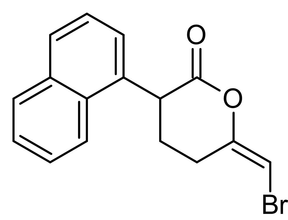Chemical Structure - HELSS, inhibitor of Ca<sup>2+</sup> independent PLA<sub>2</sub> (ab141762)