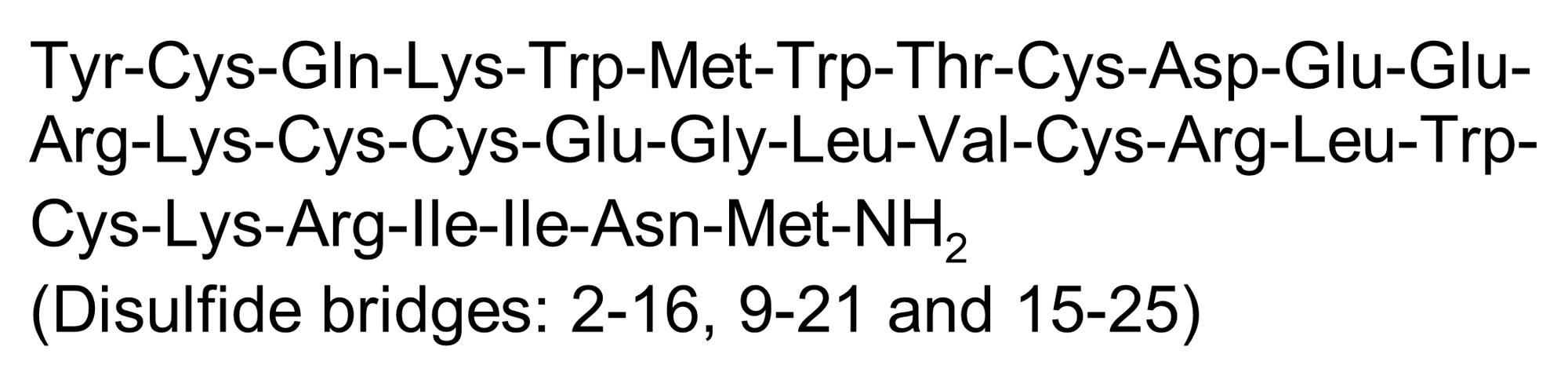 Chemical Structure - Phrixotoxin-2, K<sub>v4.2</sub> and K<sub>v4.3</sub> channel blocker (ab141843)