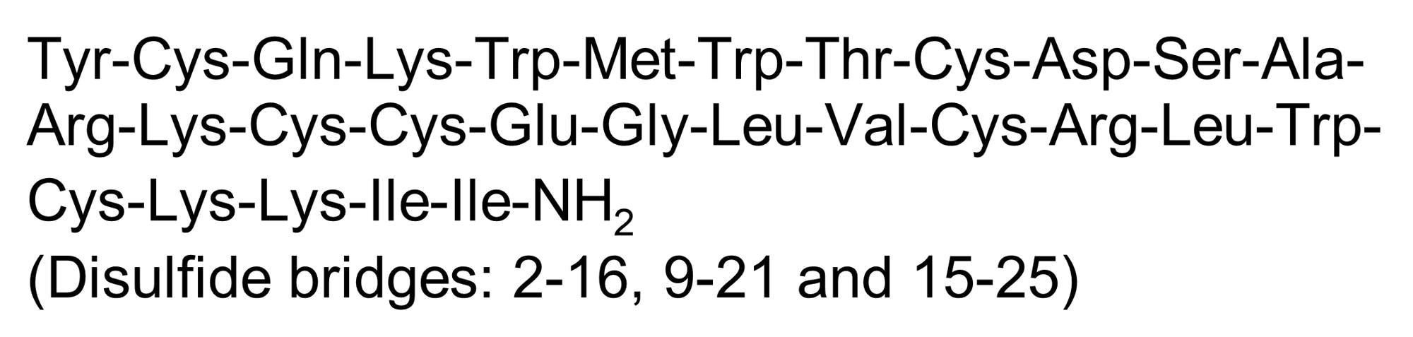 Chemical Structure - Phrixotoxin-1, Specific K<sub>v4.3</sub> and K<sub>v4.2</sub> channel blocker (ab141844)