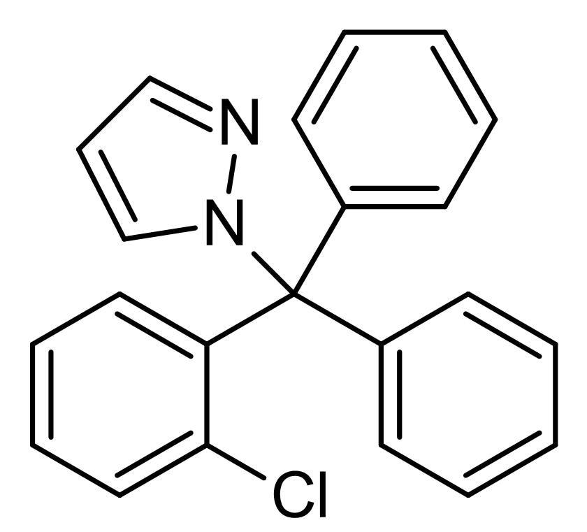 Chemical Structure - TRAM 34, K<sub>Ca</sub>3.1 channel blocker (ab141885)