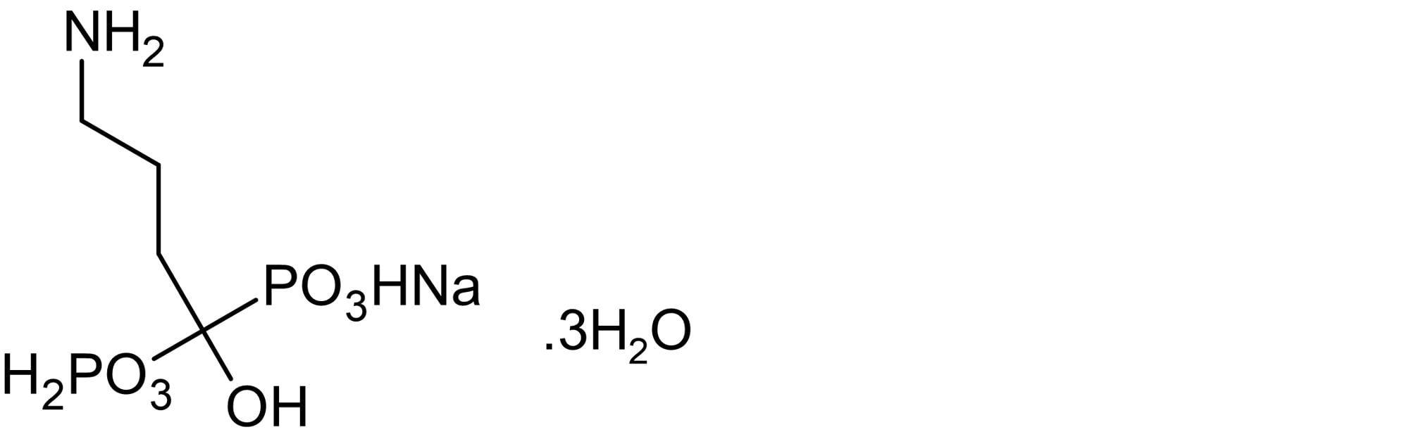 Chemical Structure - Alendronate monosodium trihydrate, bone resorption inhibitor (ab141897)