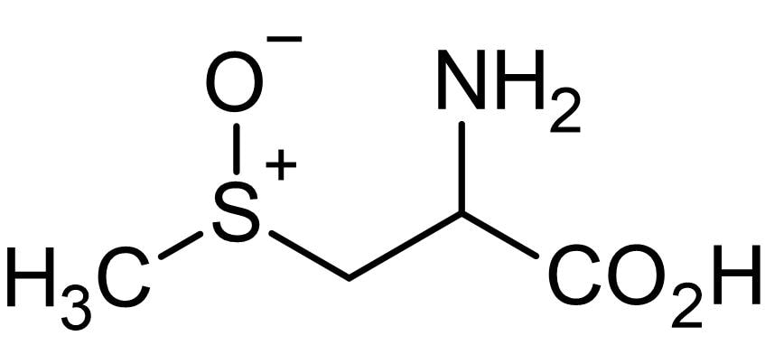Chemical Structure - (±)-S-Methyl-L-cysteine-S-oxide, Amino acid (ab141953)
