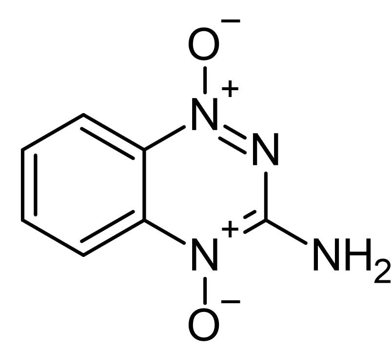 Chemical Structure - Tirapazamine, cytotoxic agent (ab141976)