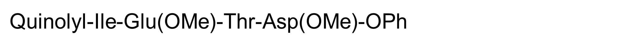 Chemical Structure - Q-IETD-OPh, caspase-8 inhibitor (ab142038)