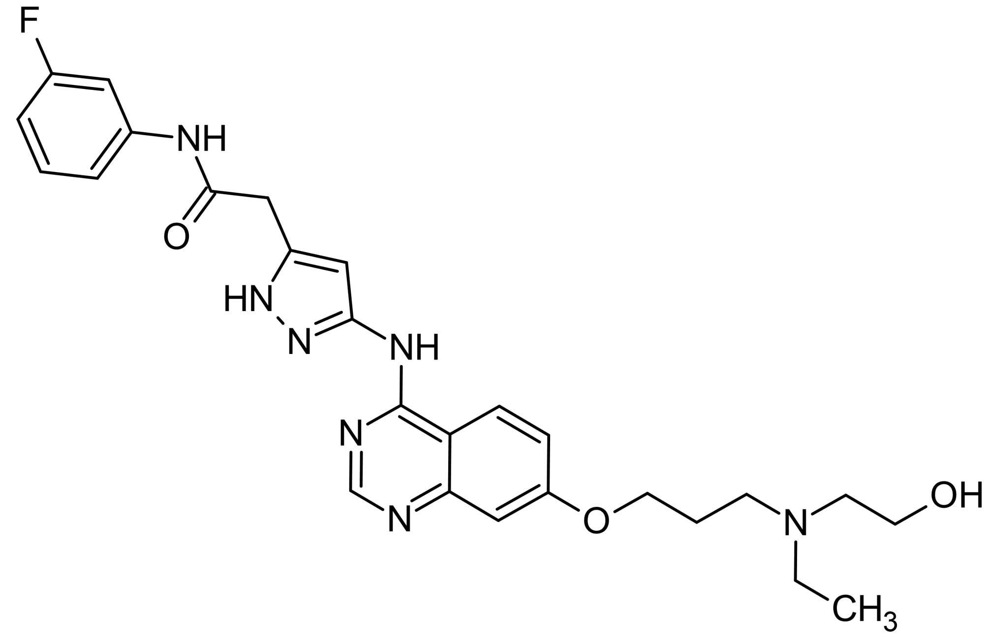 Chemical Structure - AZD1152-HQPA, Aurora B kinase inhibitor (ab142049)
