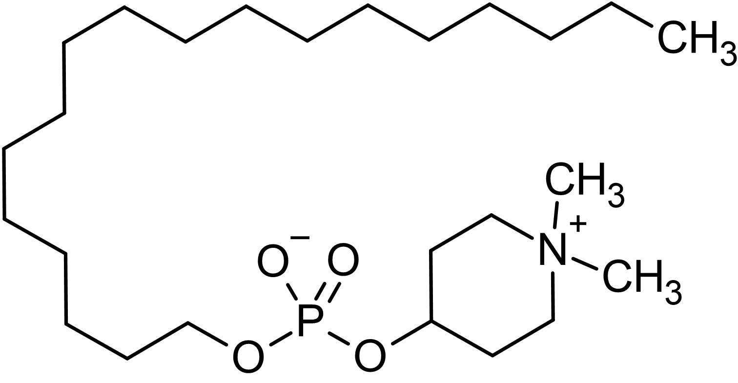 Chemical Structure - Perifosine, Akt inhibitor (ab142055)