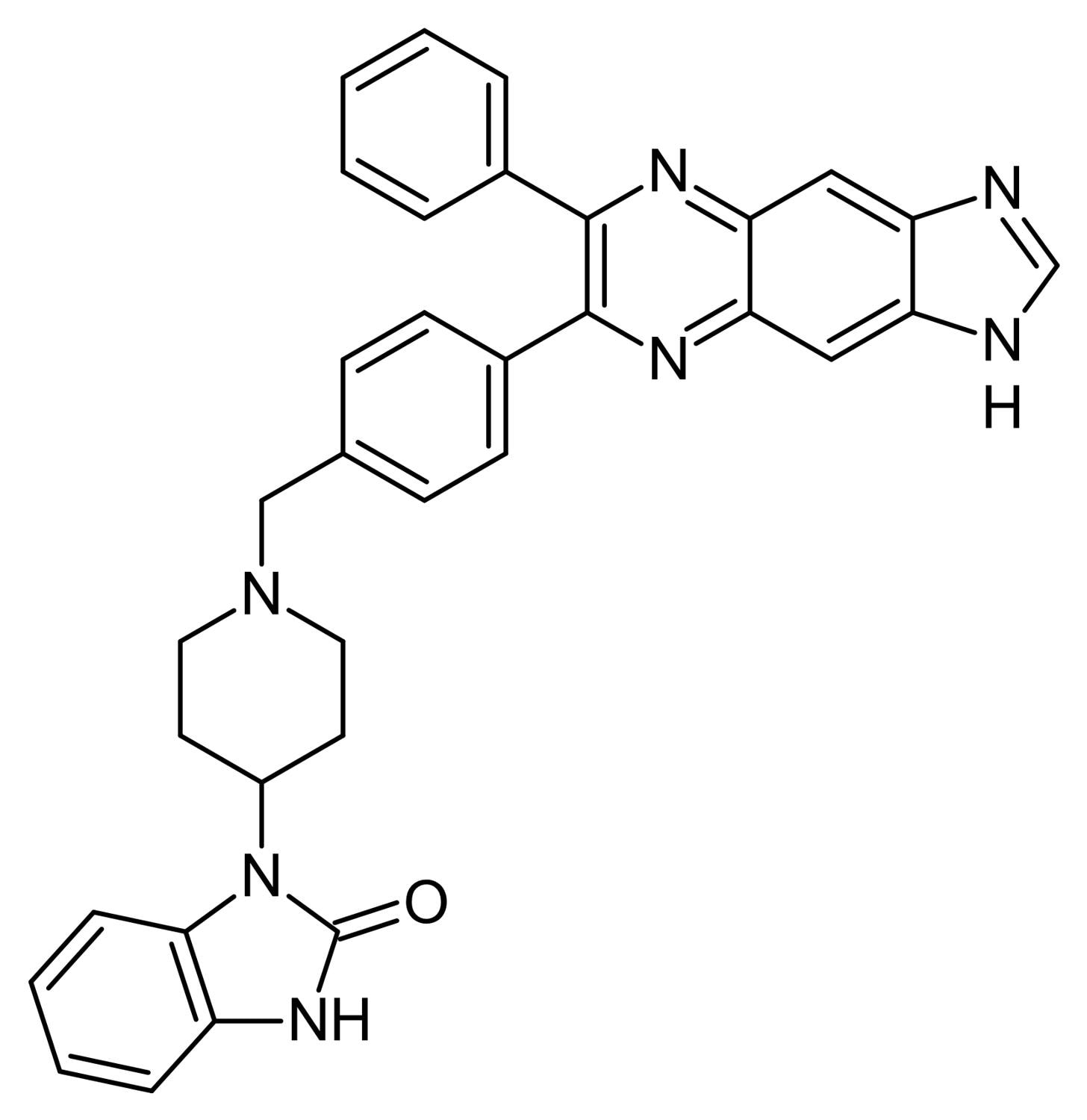 Chemical Structure - Akt Inhibitor (Akti-1/2), Akt1/2 kinase inhibitor (ab142088)