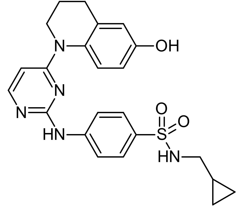 Chemical Structure - Pyrintegrin, enhances hESC survival (ab142093)