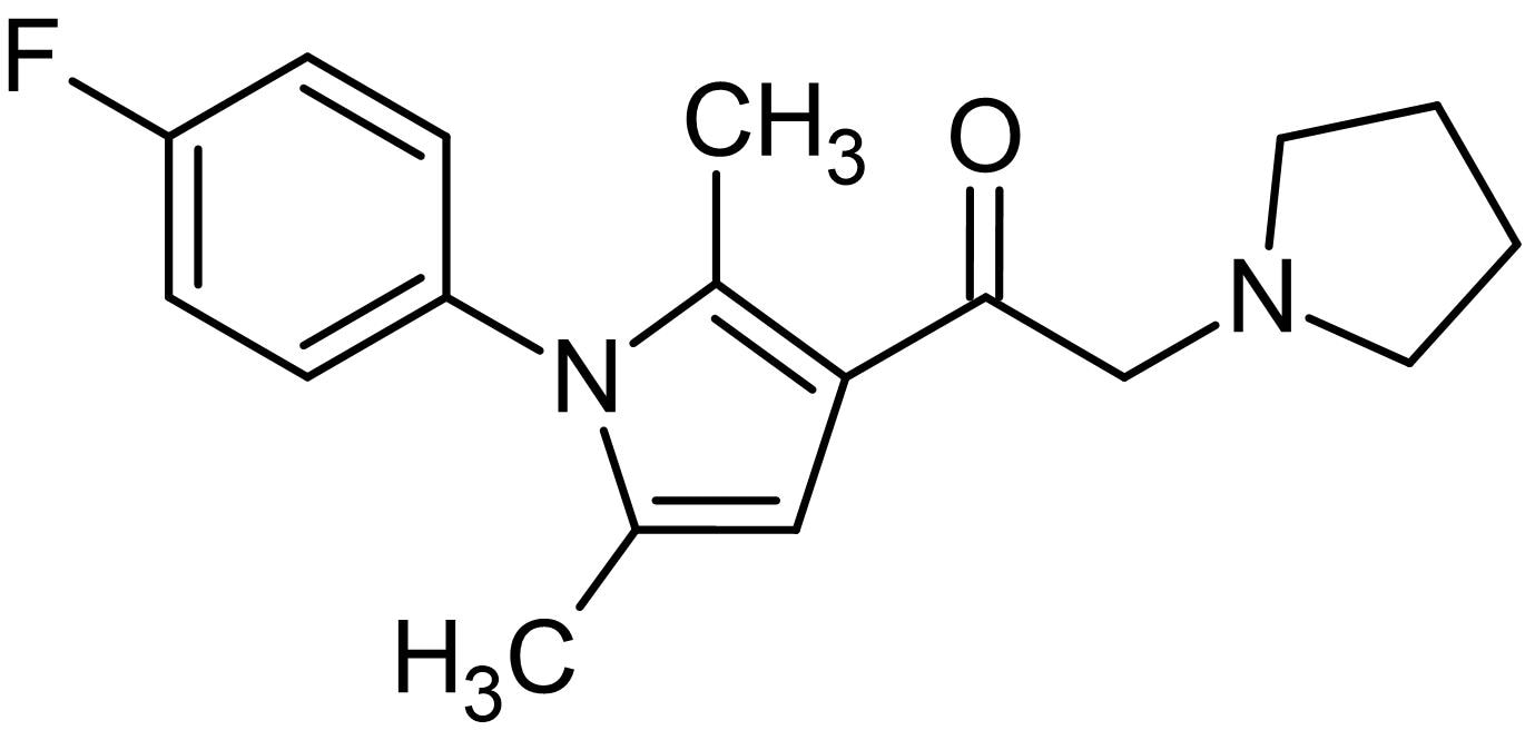 Chemical Structure - IU1, Usp14 inhibitor. Cell-permeable (ab142122)