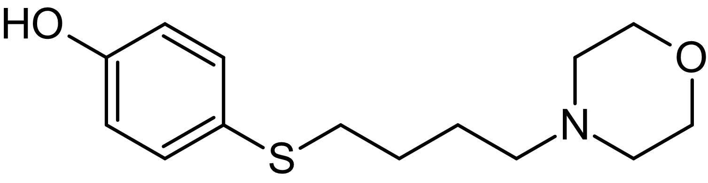 Chemical Structure - MoTP, platelet activating factor receptor antagonist (ab142125)